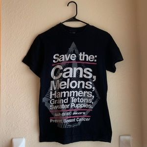 Save the Cans Tee